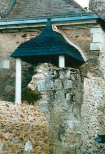 Pose de colonnes